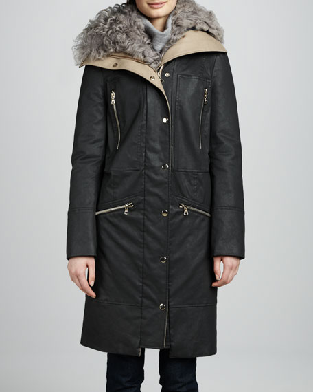 Alvarez Fur-Lined Coat