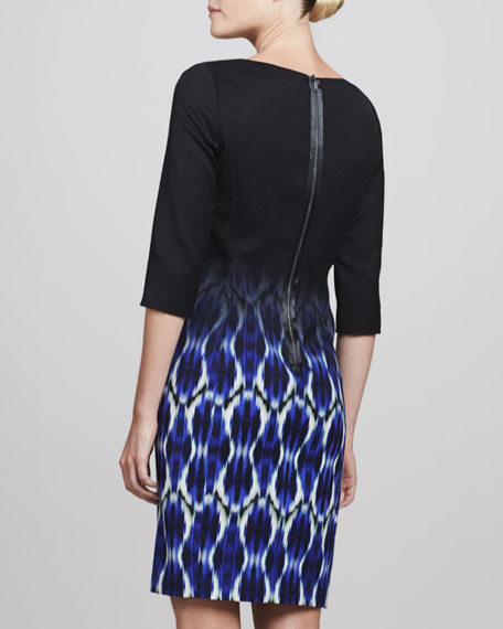 Maureen Soundwave Ombre Dress
