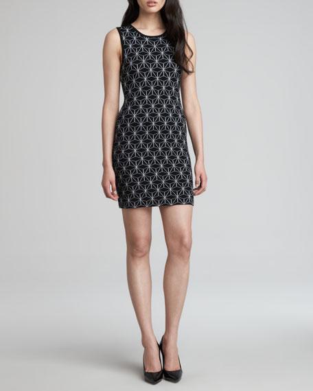 Bentley 3D Printed Knit Dress