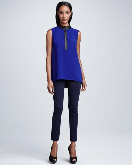 Nina Slim Jersey Pants