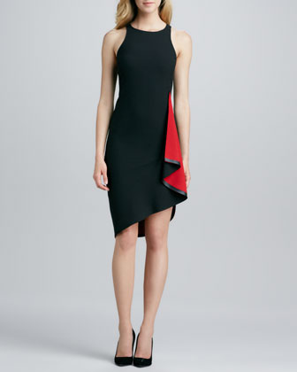 Joni Sleeveless Crepe Dress