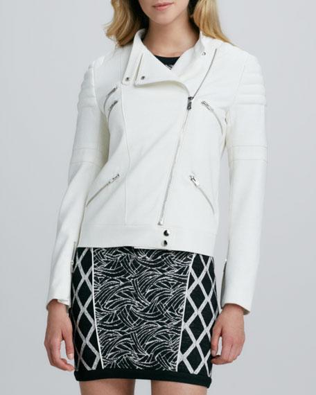 Culkin Asymmetric-Zip Jacket