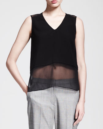 Sheer-Bottom Combo Tank