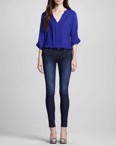 Mid-Rise Ravine Skinny Jeans, Ravine