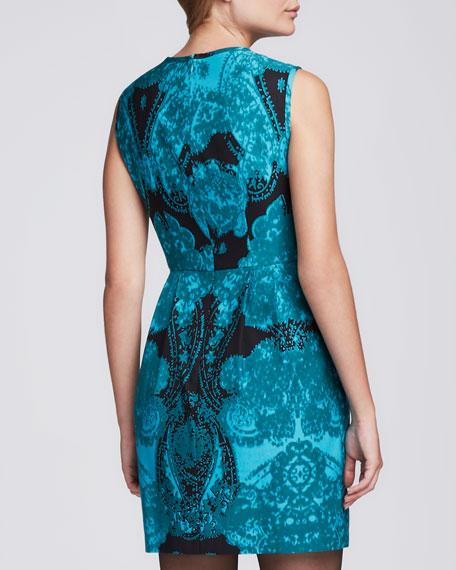 La Seine Sheer-Inset Dress