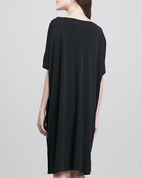 deec7094ec8 Diane von Furstenberg Beonica Draped Matte Jersey Dress