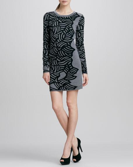 Farley Printed Knit Dress