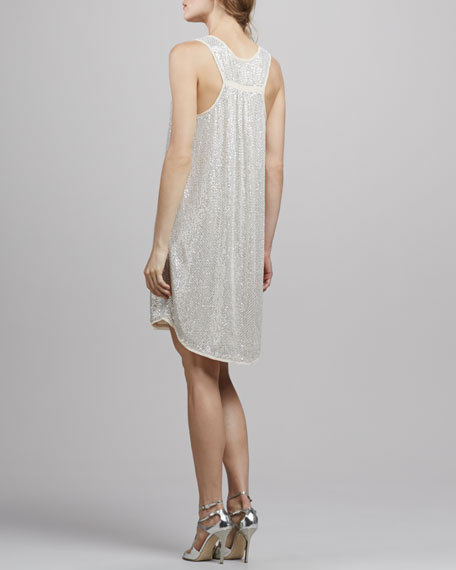 Pellina Sequined Tank Dress