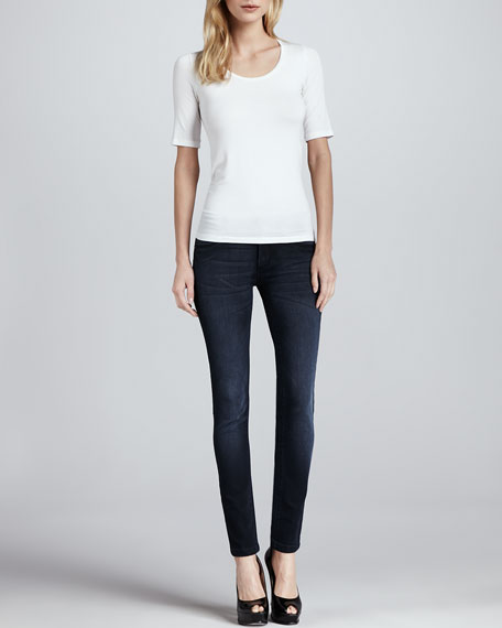 Emma Vienna Cropped Legging Jeans