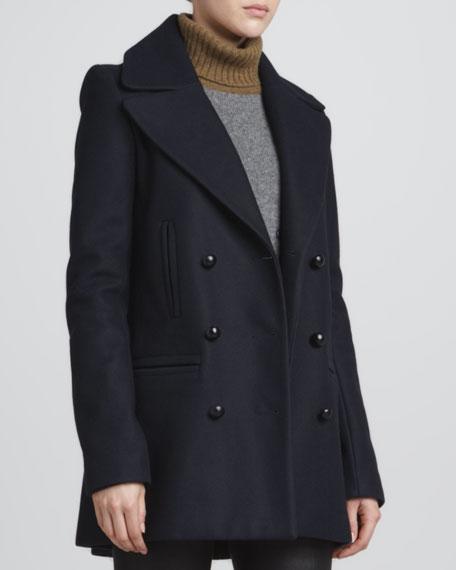 Savannah Felt Pea Coat