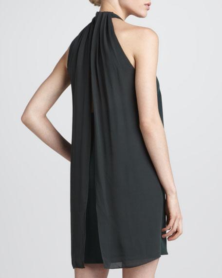 Steff Chiffon Trapeze Dress