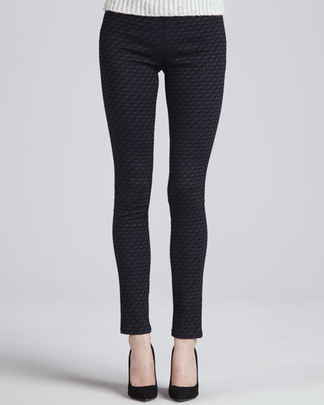 Loretta Skinny Jacquard Pants