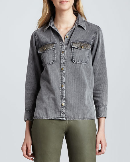The Perfect Faded Shirt