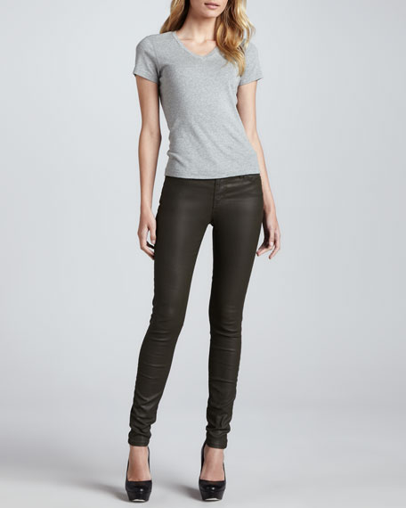 The Skinny Ankle Pants, Army Green