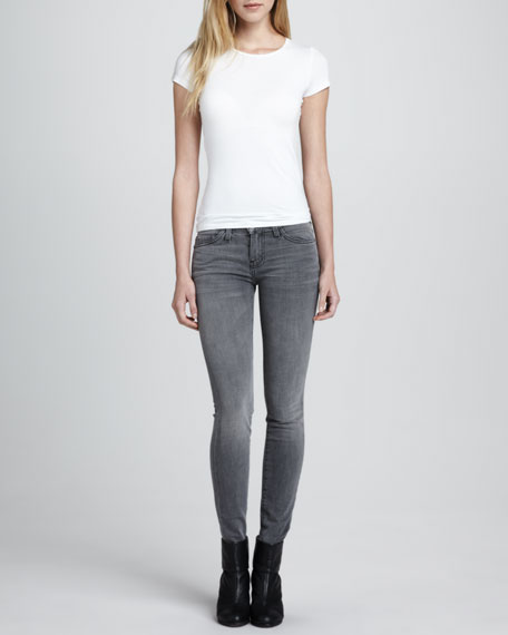 The Ankle Skinny Jeans, Gutter