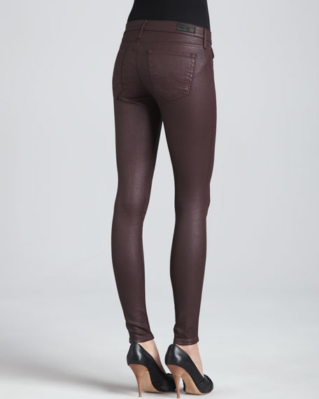 The Absolute Coated Slick Leggings, Brave
