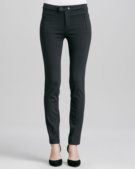 Stretch Ski Pants, Charcoal