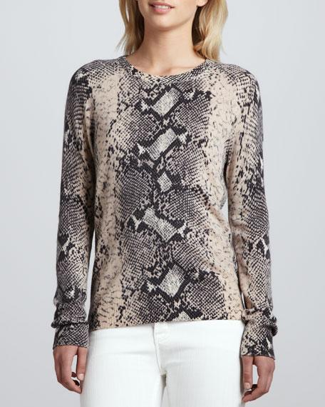 Sloane Cashmere Crewneck Sweater