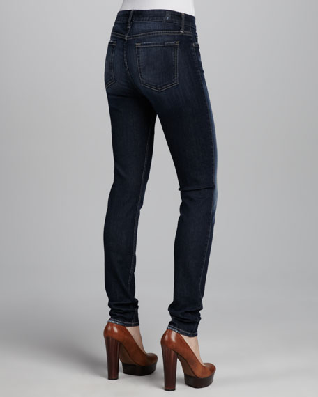 Mid-Rise Skinny Seine River Jeans