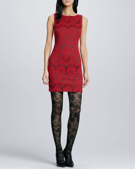 Donovan Fitted Lace Dress