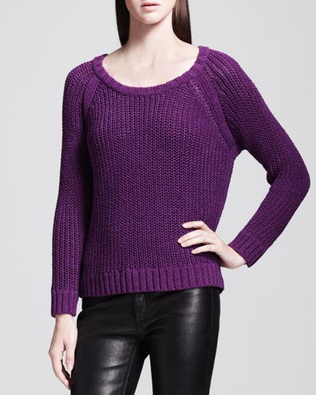 Kendall Raglan Knit Pullover