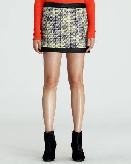 Kensington Printed Short Skirt
