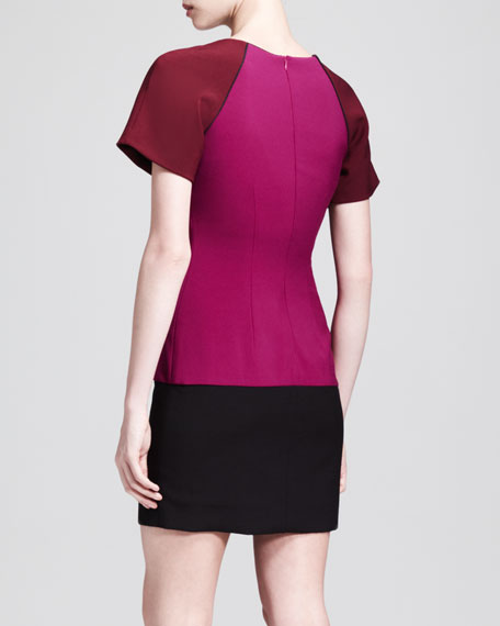 Colorblock Tee Dress