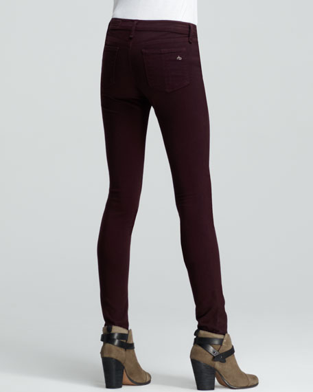 The Legging Jeans, Mulberry