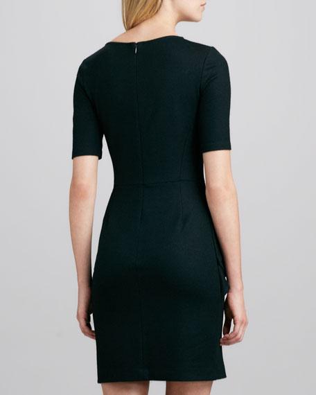 Arvada Knit Peplum Dress