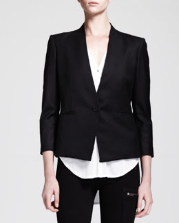 HELMUT Helmut Lang Reflect Single-Button Blazer