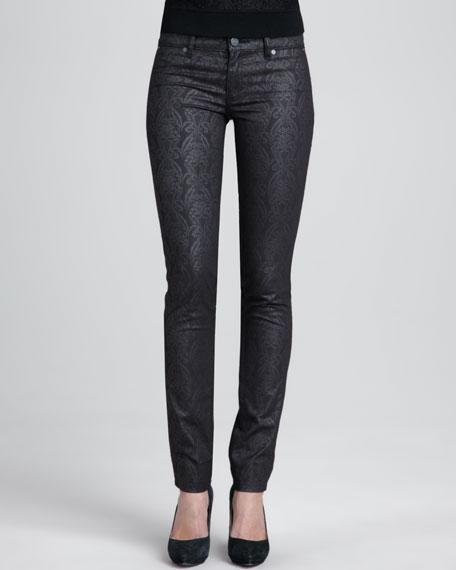 Honour Printed Skinny Jeans