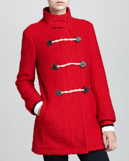 Splendid Sequoia Mock-Toggle Coat