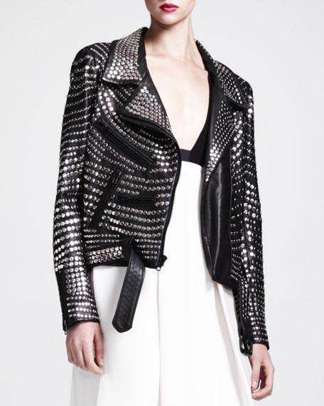 da1316f1c Blake Studded Leather Jacket