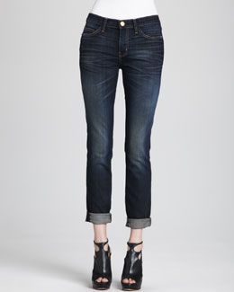 Current/Elliott The Skinny Rolled Jeans