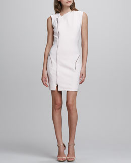 Elizabeth and James Rory Asymmetric Zip Dress