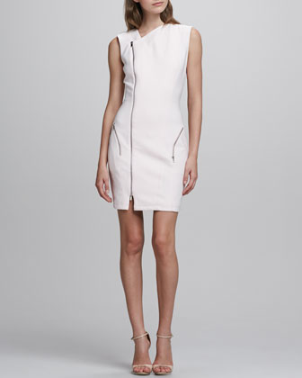 Rory Asymmetric Zip Dress