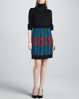 M Missoni Frequency Knit Skirt