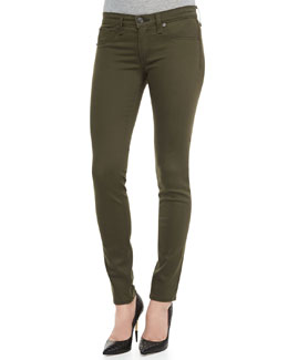 rag & bone/JEAN The Legging Jeans, Army Sateen