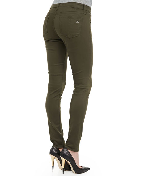The Legging Jeans, Army Sateen
