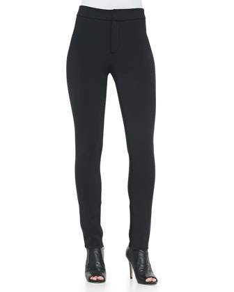 High-Waist Neoprene Leggings