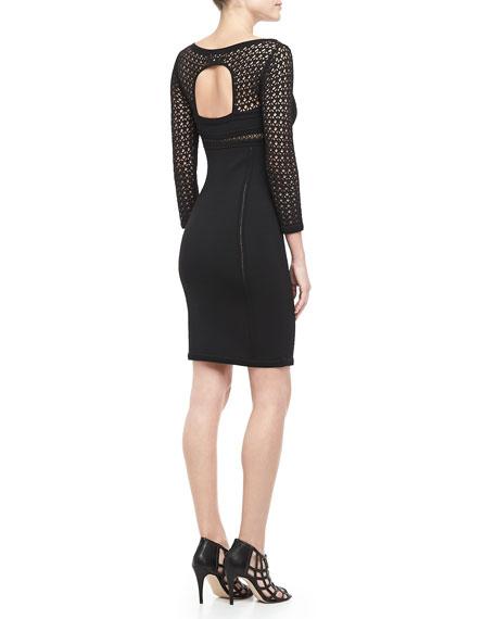 Brooklyn Crochet-Top Dress