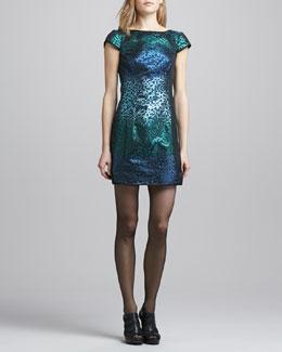 Nanette Lepore Cabaret Sequined Fitted Dress