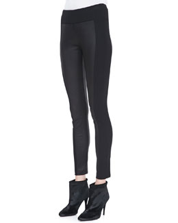 Rag & Bone Glasgow Paneled Leather Leggings