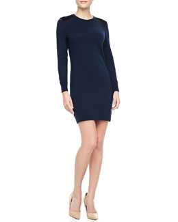Rag & Bone Maribel Wool Shift Dress