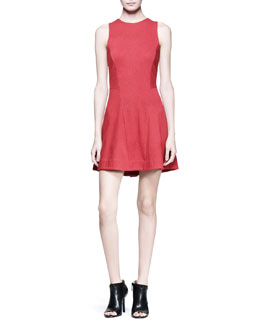 Rag & Bone Geneva Sleeveless Textured Dress