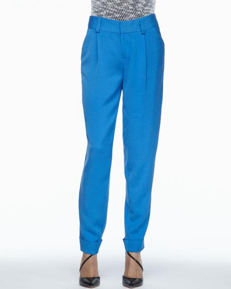 Arthur Pleated Cuffed Pants