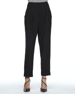 Alice + Olivia Anders High-Waist Pants