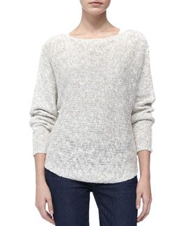 Vince Round-Hem Knit Sweater
