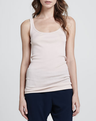 Ribbed Favorite Tank, Blossom