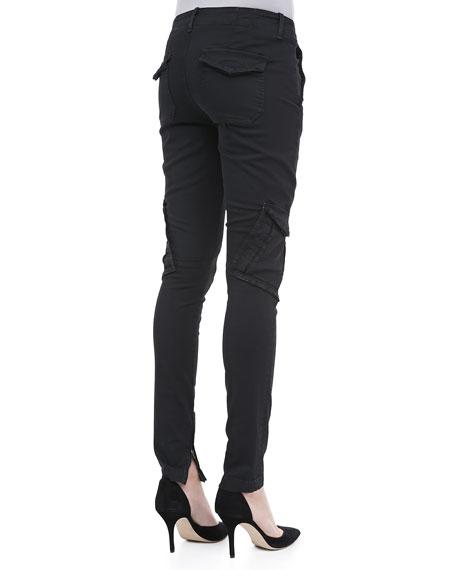 Slim Military Cargo Pants